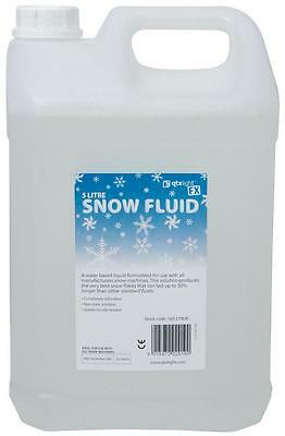 QTX 160.579 5L Water Based Snow Fluid For QTX Snow Machines Non-Toxic - New