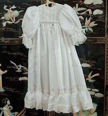 White Christening Gown ~ Designed For Baby Dolls ~ Stunning!!!