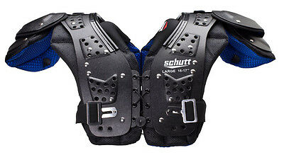 New 2016 Schutt Youth Mid Flex 4.0 Football Shoulder Pads 802357 All Sizes