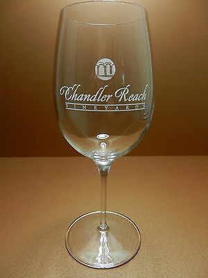 Chandler Reach Vineyards Stemmed Luigi Bormioli Crystal Wine Glass Benton City