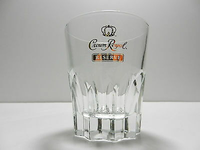 Crown Royal Reserve Gold Script Canadian Whiskey Glass