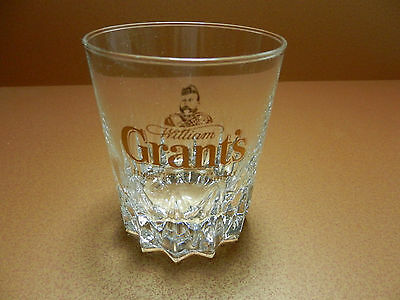 Grant's Familey Reserve Finest Scotch Whisky Glass USED
