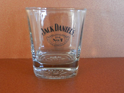 Jack Daniel's Old No. 7 Brand Tennessee Whiskey Glass Embosssed