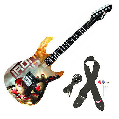 Peavey Rockmaster Full Size Marvel Iron Man 3 Movie Maple Neck Electric Guitar