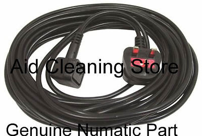 GENUINE Numatic Vacuum Power Cable Lead With Plug Henry Hetty Henry Xtra 236115