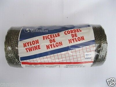 Wellington Twisted Nylon Twine 18# 260 Ft Hunting Fishing General Purpose