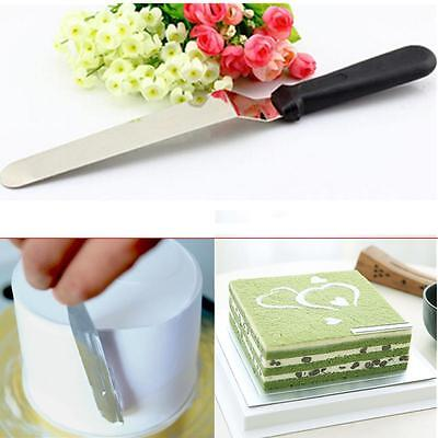 Spatula Smoother Icing Straight Spreader Fondant Pastry Cake Decorating DIY Tool
