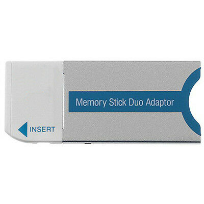 Memory Stick Duo Adapter fits Memory Stick Duo and Memory Stick Pro Duo Cards