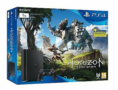 Sony PS4 PlayStation 4 Slim 1TB + Horizon Zero Dawn