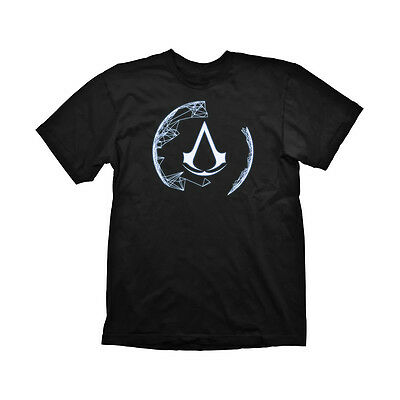 GE1680S ASSASSINS CREED 4 Animus Crest Small T-Shirt
