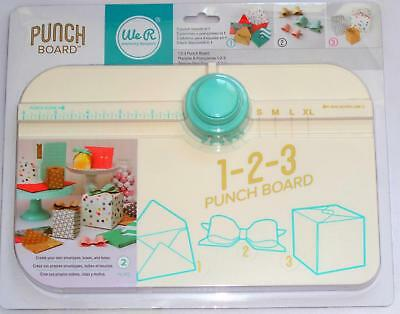 We R Memory Keepers 1 2 3  Punch 123 Board makes bows envelopes & boxes