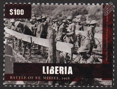 WWI 1918 BATTLE OF St. MIHIEL US Army 89th Division IV Corps Stamp
