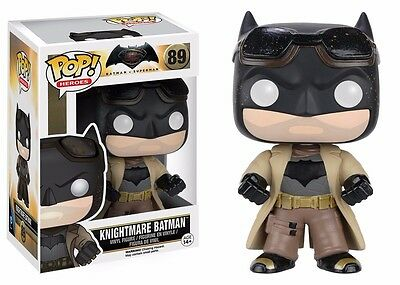 Funko Pop! Heroes: Batman vs Superman - Knightmare Batman Action Figure