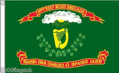 69th Regiment New York Irish Brigade 5'x3' Flag