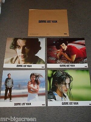 Open Your Eyes - Original Set Of 8 French Lobby Cards - Penelope Cruz