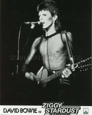 David Bowie  Ziggy Stardust And The Spiders From Mars 1973 Photo Original #1