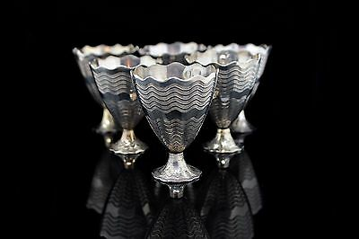 Antique Original Amazing Handmade Tugra Decorated Small Cups Set