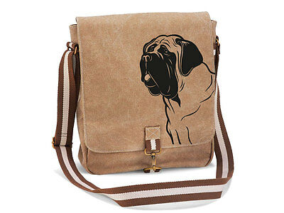 Canvas Messenger Hunderasse: Bullmastiff