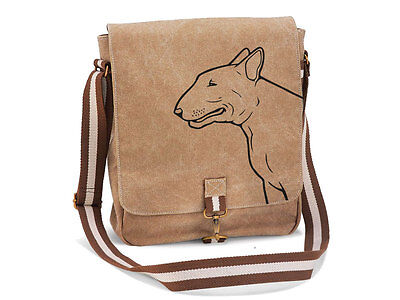 Canvas Messenger Hunderasse: Bull Terrier