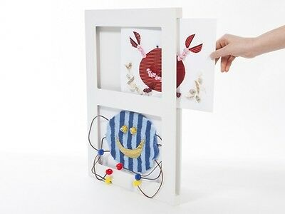 Articulate Gallery Kids A4 MDF Double Picture Frame White