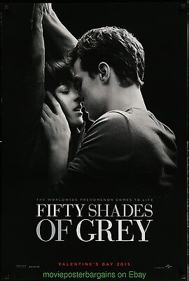 FIFTY SHADES OF GREY MOVIE POSTER Original DS 27x40 Dakota Johnson