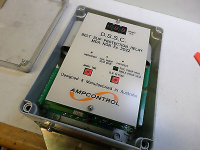 Ampcontrol -- D.s.s.c. Belt Slip Protection Relay -- Conveyor Control - E01147