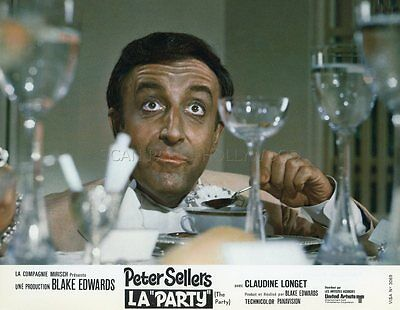 Peter Sellers The Party 1968 Vintage Lobby Card Original #5