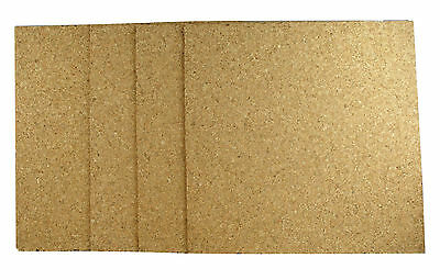 Cork Sheet 285x285x3.2mm Medium Grade x 5pk