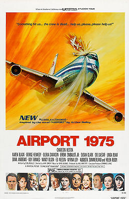 """""""AIRPORT 1975 """" Charlton Heston Classic Disaster Movie Poster A1A2A3A4Sizes"""