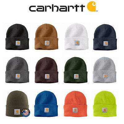 [CARHARTT] Authentic A18 Watch Hat Knit Beanie Cap All Colors in stock One Size