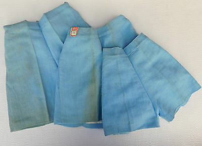 Vintage childrens AERTEX Shorts 1930s Shop soiled School uniform Sports kit Blue