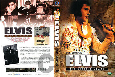 Elvis Presley- The Missing Years   DVD NEW