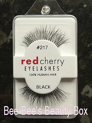 **Genuine Red Cherry 217 'Trace' False Eyelashes/Lashes, 100% Human Hair**