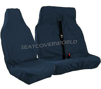 Ford Transit - Xtra Heavy Duty Navy Blue Waterproof Van Seat Covers 2+1
