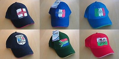 2015 Rugby World Cup Embroidered Caps England Wales France Italy South Africa +