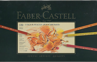 Faber Castell Polychromos Artists Pencil tin set of 120