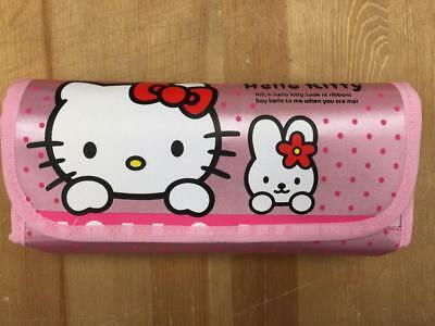 New Hello Kitty Pen/Pencil Makeup Cosmetic Glasses Bag in Bag Case Pouch-Pink