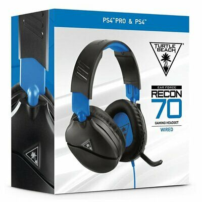 Turtle Beach Ear Force Recon 70P Headset for Sony PlayStation PS4 Gaming NEW