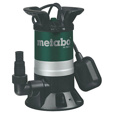 Metabo PS 7500S Submersible Dirty Water Pump 5M Lift 7500L/Hour 450w 240v