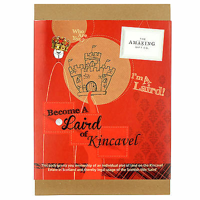 Become a Laird or Lady Title - Kincavel Estate