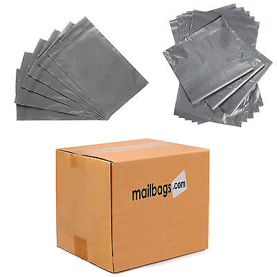 Grey Strong Plastic Mailing Post Poly Postage Mail Bags with Self Seal All Sizes