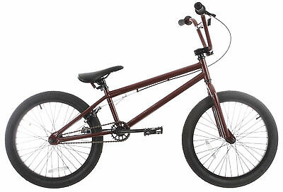 Grenade Launch X BMX Bike Chocolate Brown 20in/20.4in Top Tube