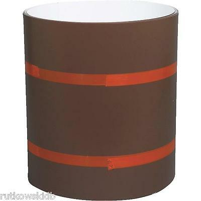 Amerimax 14-inch x 50-foot Brown/White Painted Aluminum Trim Coil