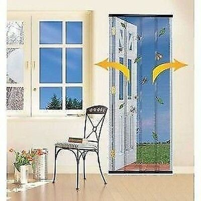 New Doorway Insect Curtain Mosquito Net Fly Blind 4 Col