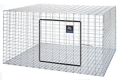 "(3) Pack Pet Lodge 30""x30"" Wire Rabbit Cages For Meat / Pet Bunny Indoor Outdoor"