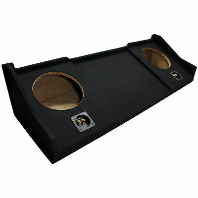 Custom Dodge Ram Ext Crew Cab 98-01 Truck Dual 10 Sub Enclosure Subwoofer Box