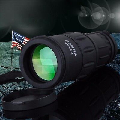PANDA 40X60 Focus Zoom Outdoor Waterproof Handheld Monocular Telescope Camping