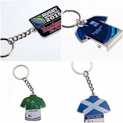 Official 2015 Rugby World Cup Keyrings  - RWC 2015 Keyrings with card