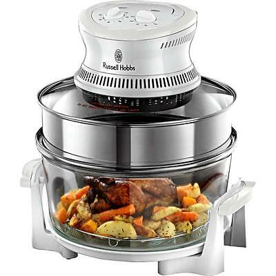 Russell Hobbs 18537 Halogen Convection Electric Oven 1400w 16 Litre Fast Cooking