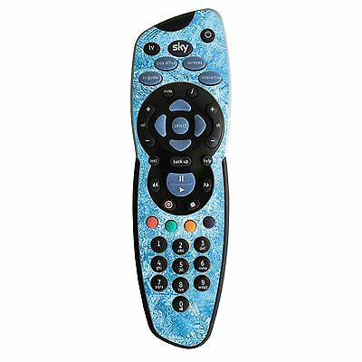 Frozen Blue Ice Design Decor Vinyl Skin Sticker for Sky+ TV Remote Controller